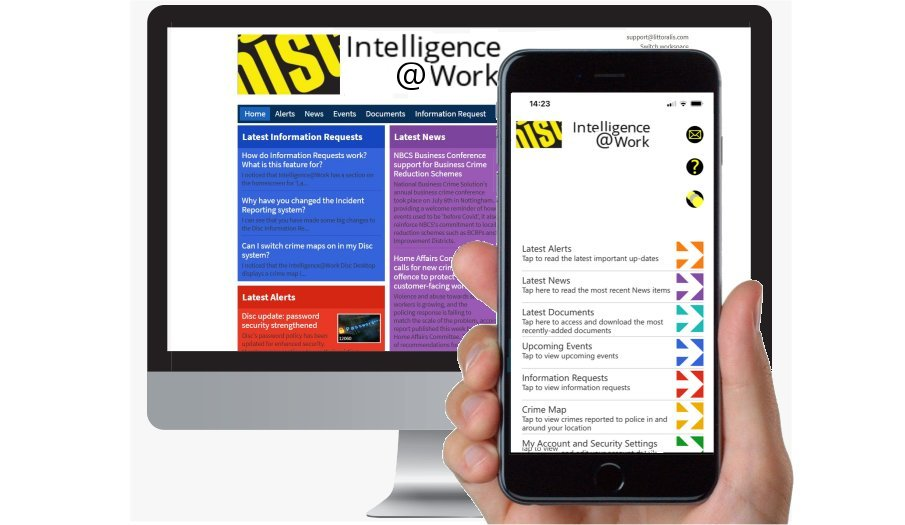 Intelligence@Work:  keeping up to date about business crime reduction